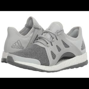 Adidas pureboost X grey running sneaker 8.5